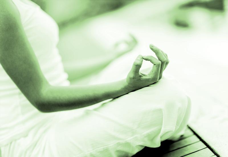 Iyengar yoga meditatie