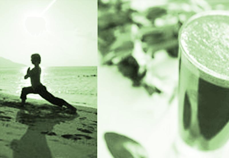 Yoga om te ontgiften