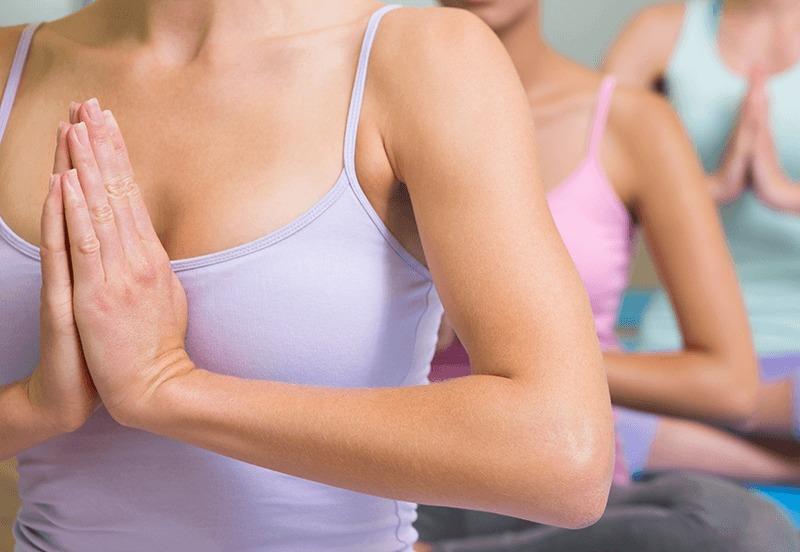 Iyengar meditatie pose